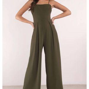 Tobi Green Jumpsuit